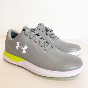 Under Armour WMNS Spikeless Golf Shoes Grey Size 5